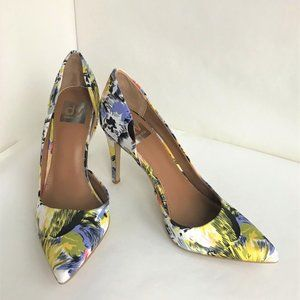 DV by Dolce Vita Womens Silk Floral Pumps - New